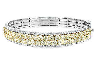 B244-12027: BANGLE 8.17 YELLOW DIA 9.64 TW