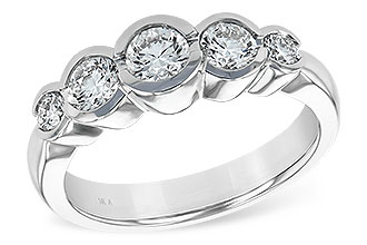 D147-78408: LDS WED RING 1.00 TW