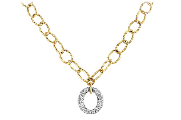 F245-01126: NECKLACE 1.02 TW