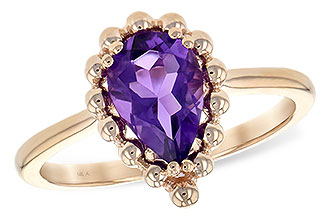 D244-12981: LDS RING 1.06 CT AMETHYST